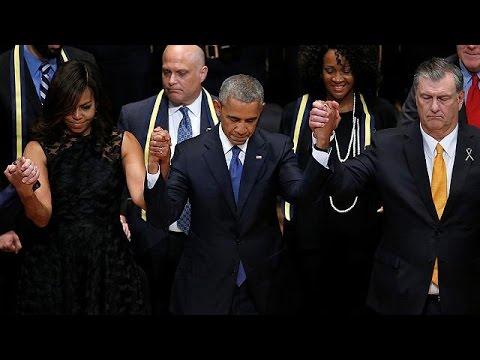 Barack Obama rend hommage aux policiers tués à Dallas