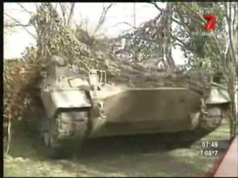 Ejercito argentino artilleria y en accion