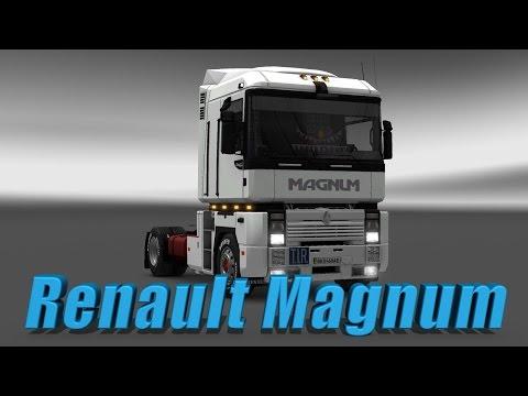 Euro Truck Simulator 2 обзор мода ( Renault Magnum Integral )