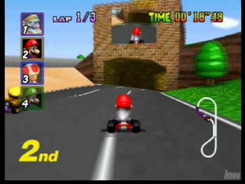 Mario Kart 64 (1997) - IGN Gameplay Vault