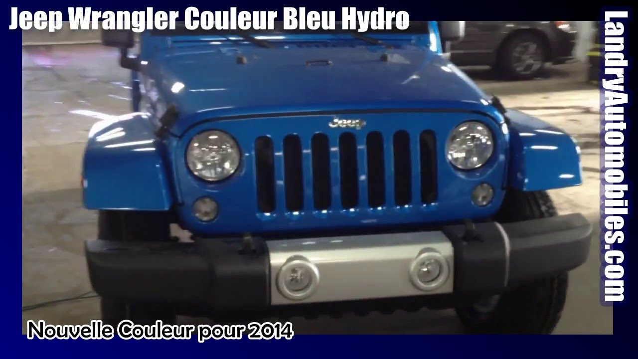 2014 jeep wrangler hydro bleu prix en ligne instantan youtube. Black Bedroom Furniture Sets. Home Design Ideas