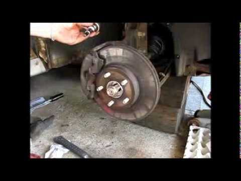 Replacing A Front Wheel Bearing And Hub Assembly On A 1997