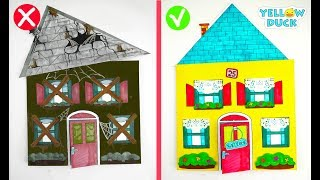 PAPER DOLLHOUSE FOR KIDS EASY PAPERCRAFTS & HANDMADE TOYS