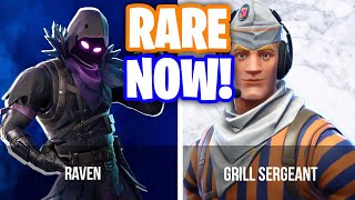 Fortnite Skins that have become RARE