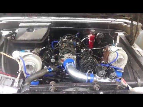 Worlds Cheapest Twin Turbo Swap