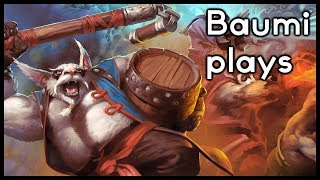 Dota 2 | NO ITEMS NEEDED!! | Baumi plays Brewmaster
