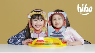 Kids Play PIE FACE SHOWDOWN! | Kids Play | HiHo Kids