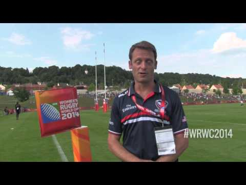 WRWC 2014 - USA Women's Eagles vs Ireland: Half-Time Report