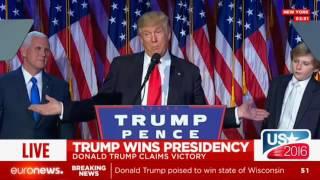 Donald Trump Winning Election