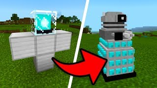 How To Spawn DARLEKS in your Minecraft World! (Doctor Who Mod)