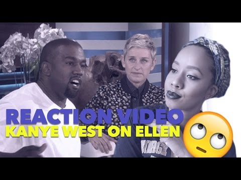 Reaction Video: Kanye West on Ellen