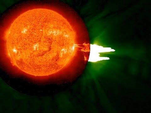 Raw: NASA Captures Solar Flare
