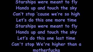 StarShips - Nicki Minaj (Lyrics)