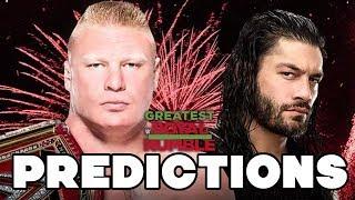 WWE Greatest Royal Rumble 2018 Predictions