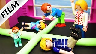 Playmobil Film deutsch | TRAMPOLIN PARK IN LUXUSVILLA - Schlafzimmer Umbau |Kinderfilm Familie Vogel