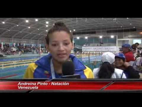 Juegos Bolivarianos 2013  1era Jornada de la natación Venezuela