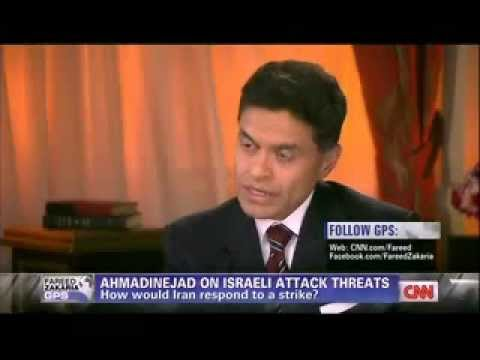 Fareed Zakaria GPS Full Interview Iranian President Mahmoud Ahmadinejad 2012 Part 1