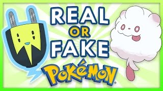 Real or Fake Pokemon Challenge!
