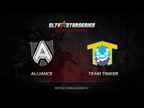 Alliance vs Team Tinker, SLTV StarSeries X Finals, Day 3, LB Round 2