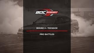 British Drift Championships - Round 3 Teesside - Pro Top 24 Battles