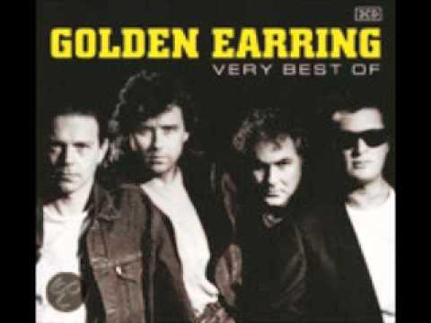 golden earring long blond animal