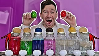 HOW TO TURN AN EGG INTO A BOUNCY BALL | 5 AMAZING EGG EXPERIMENTS!!