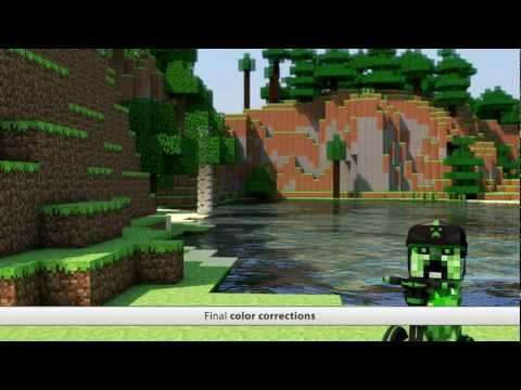 Minecraft Ultra Graphics - CGI Wallpaper Render