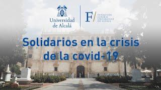 La UAH solidaria ante la crisis de la covid-19