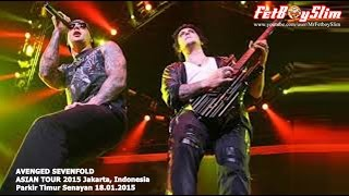 A7X AVENGED SEVENFOLD - NIGHTMARE live in Jakarta, Indonesia 2015