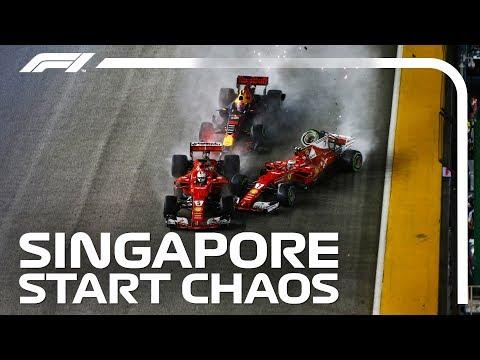 Analysing the Start Chaos | 2017 Singapore Grand Prix
