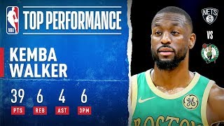 Kemba Drops 39 in RETURN