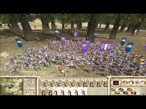 Rome Total War Online Battle #2098: 5 Player Free For All (Live-Commentary)