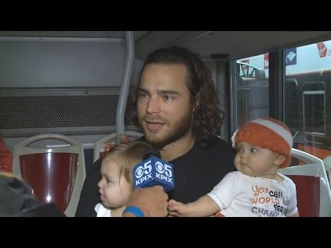 Brandon Crawford & Family Talk About Giants Success Before World Series Victory Parade