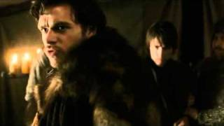 Game of thrones epic scene Robb stark sends a warning to tywin lannister
