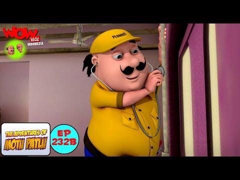 Tukang Ledeng Motu Patlu | Motu Patlu dalam Bahasa - Animasi 3D Kartun | WowKidz Indonesia thumbnail