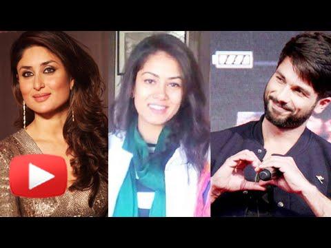 Shahid Kapoor Mira Rajput Relationship - Kareena Kapoor Reacts video