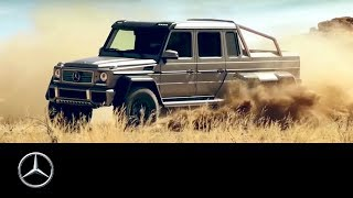 The G 63 AMG 6x6 showcar – latest member of the G-Class family.