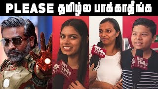 தமிழ்ல பாக்குறதுக்கு தூக்குல தொங்கிறலாம்   Kasi Talkies Public Opinion   Avengers Endgame
