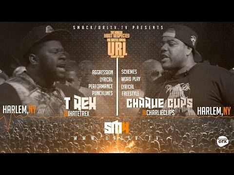 T-REX VS CHARLIE CLIPS SMACK/ URL