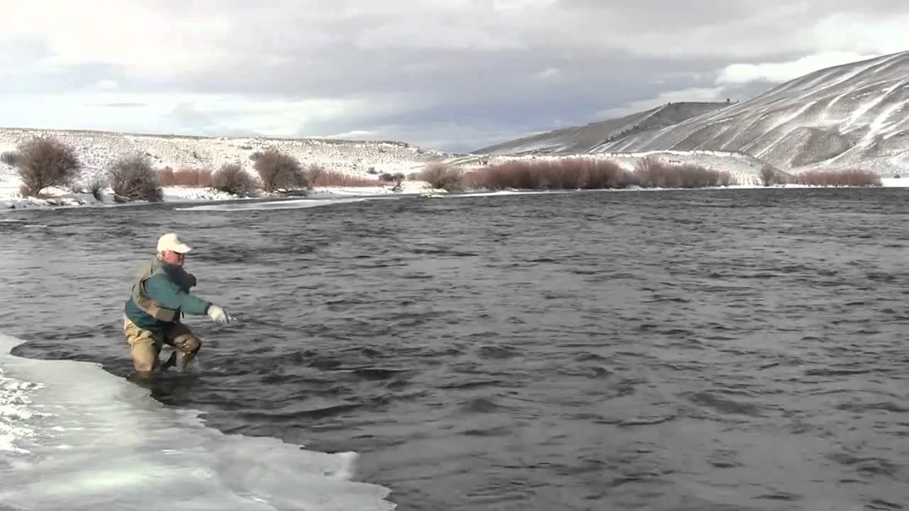 Winter on the madison river craig mathews and a tenkara for Lake mathews fishing