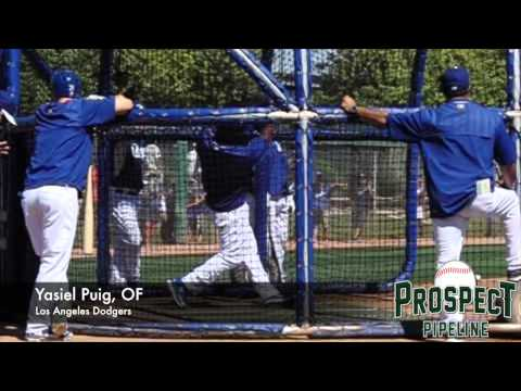 Yasiel Puig, OF, Los Angeles Dodgers, Swing Mechanics at 200 fps