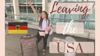 ♡ Leaving The USA For The First Time // Frankfurt, Germany // Travel Vlog