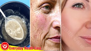Just Use This Mixture - Get Rid Of Wrinkles On The Face & Get Younger Look
