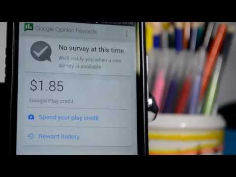 Get Paid To Take Google Surveys  Google Play Cash For Free