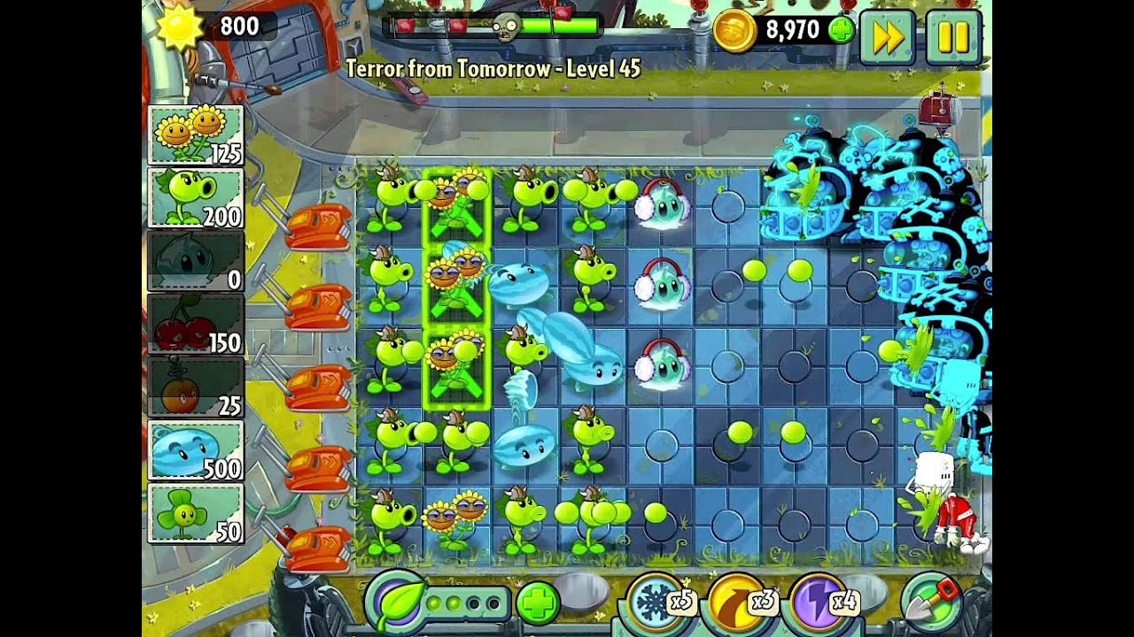 Too Many Football Zombie Plants Vs Zombies 2 New Map Far