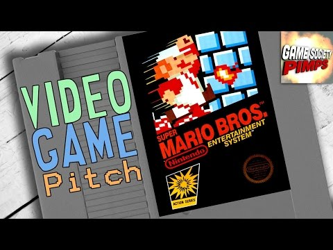True Origin of Mario - Videogame Pitch W/Morgan Freeman - E02 - GameSocietyPimps