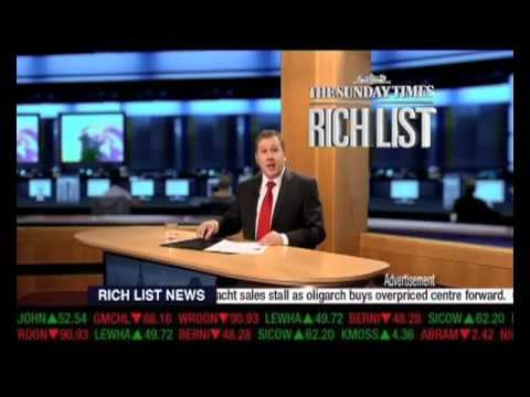 Sunday Times 'Rich List' - Andy McLeod