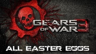 Gears of War 3 - All Multiplayer Maps Easter Eggs