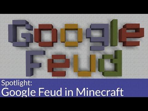 Play Google Feud in Minecraft