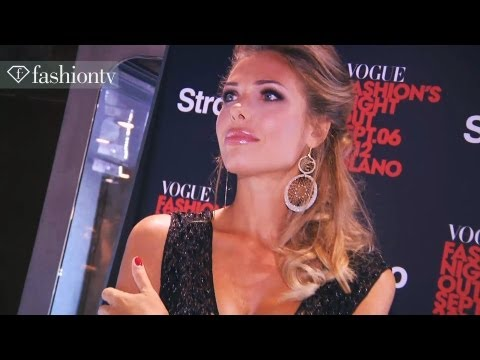 Fashion's Night Out with Vogue Italia in Milan – Part 1 ft Ermanno Scervino, Ilary Blasi | FashionTV